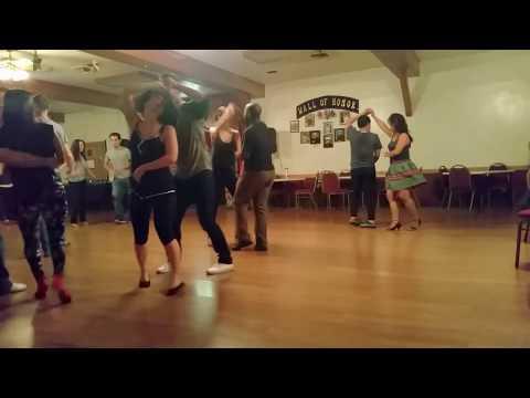 Lawrence García & Melissa Anderson, Social Dancing @ Mambo Exquisite