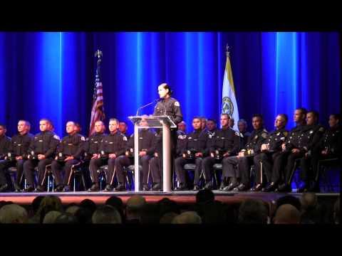 San Jose Police Academy Graduation 2014