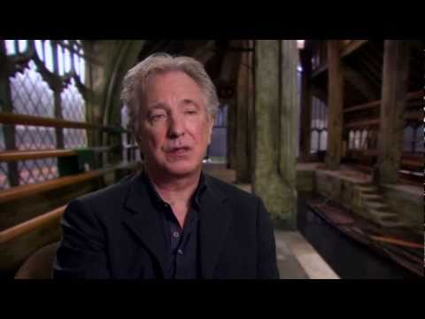 "Alan Rickman Talks ""Severus Snape"" In 'Harry Potter and the Deathly Hallows Pt 2"""