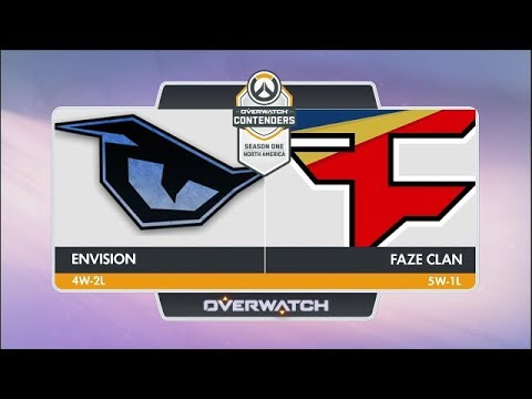 EnVision vs FaZe Clan (Part 1) | OW Contenders Season One: North America