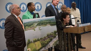 Mayor de Blasio Announces New Waterfront Parkland in Co-Op City