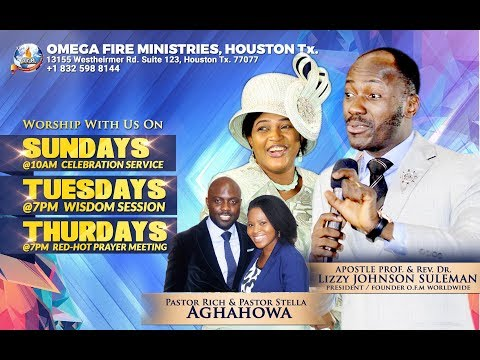 SEE WHAT God Showed me after 2 hours SPEAKING IN TONGUES  - Apostle Johnson Suleman - Pastor Rich