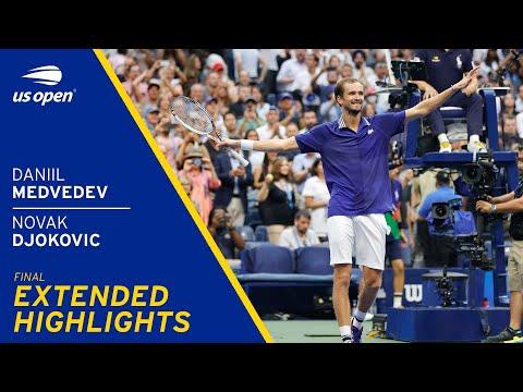 Novak Djokovic vs Daniil Medvedev Extended Highlights   2021 US Open Final