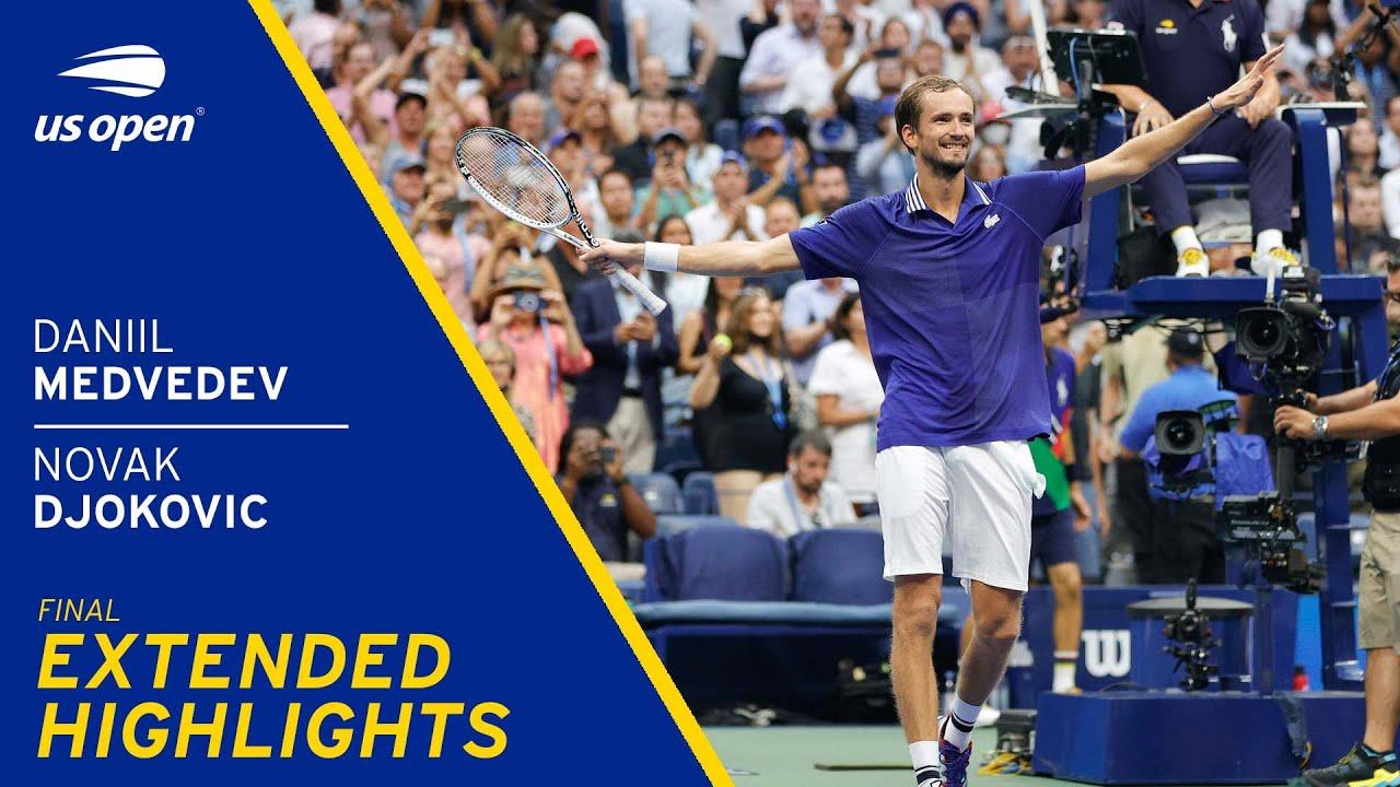Download Novak Djokovic vs Daniil Medvedev Extended Highlights | 2021 US Open Final