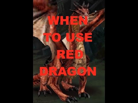 Clash Of Kings : RED DRAGON : WHEN TO USE IT