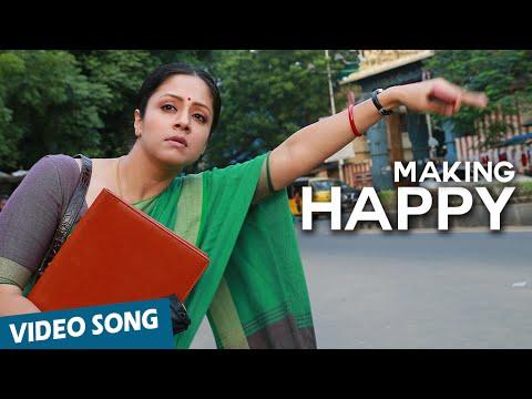 Making of Happy Song | 36 Vayadhinile | Jyotika | Suriya | Rosshan Andrrews | Santhosh Narayanan