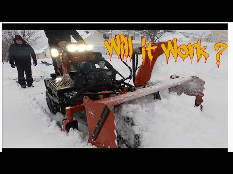 Toro Grandstand Multiforce/Snow Blower Review 2021 Snow Storm/ Blizzard