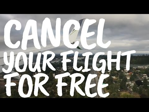 How To Cancel Your Flight For FREE (updated)