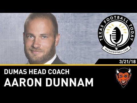 Texas Football Today interview: Dumas head coach Aaron Dunnam