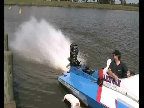 Mercury 1974 Twister Iix Racing Outboard Youtube