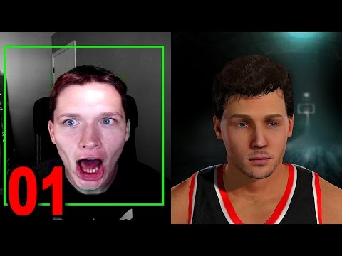 NBA 2K16 My Player Career - Part 1 - Face Scan and Player Creation (PS4 Gameplay)
