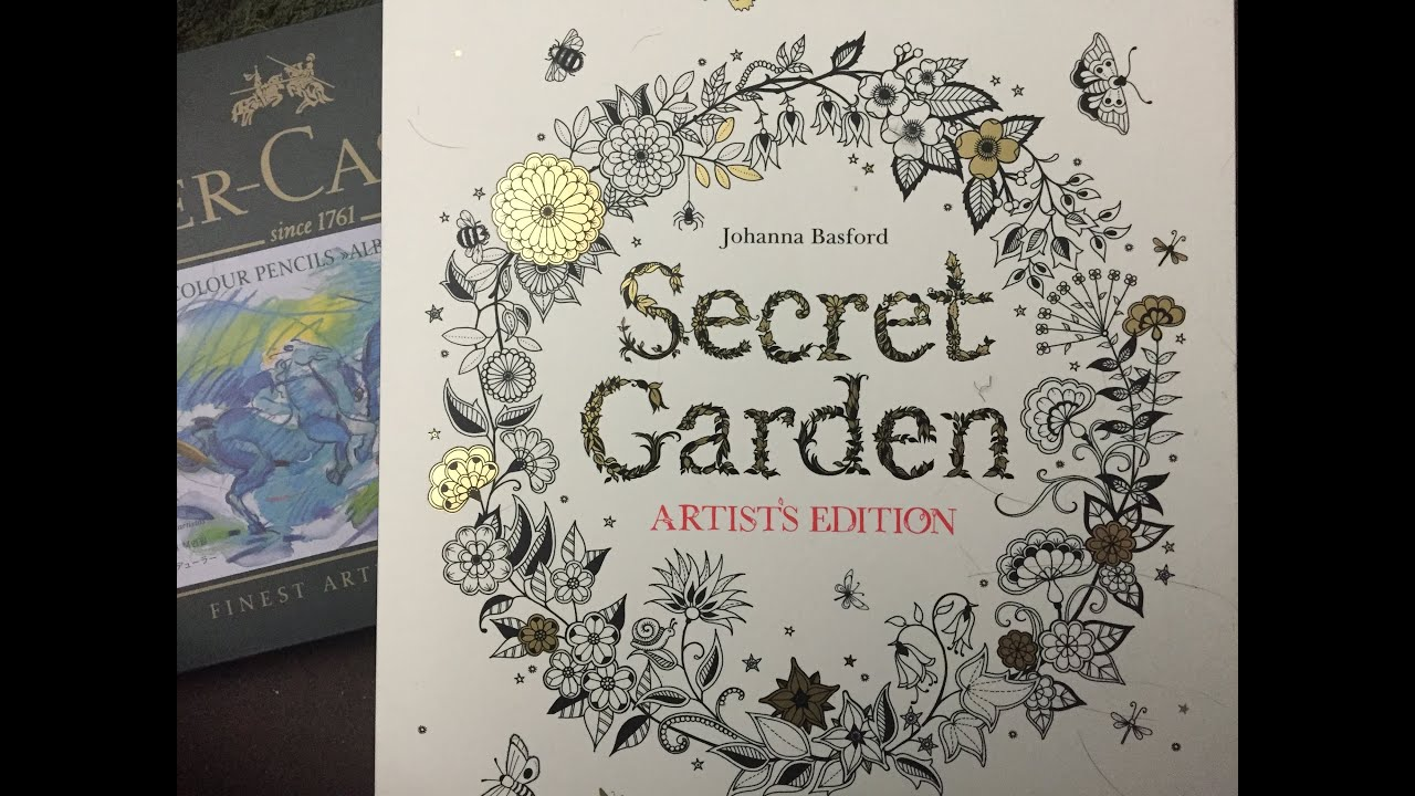 Adult Coloring Book REVIEW Flipthrough Secret Garden Artist Edition