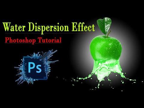 Photoshop Tutorial Water Dispersion Effect || Yash Patel thumbnail
