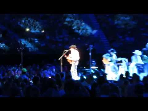 George Strait - Baby Blue/2017/Las Vegas, NV/T-Mobile Arena