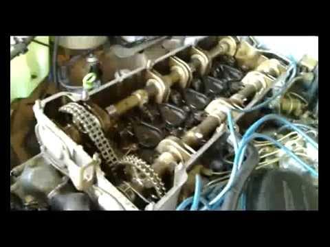 110 Engine Timing Diagram Service Mercedes M110 Engine 1 2 Youtube