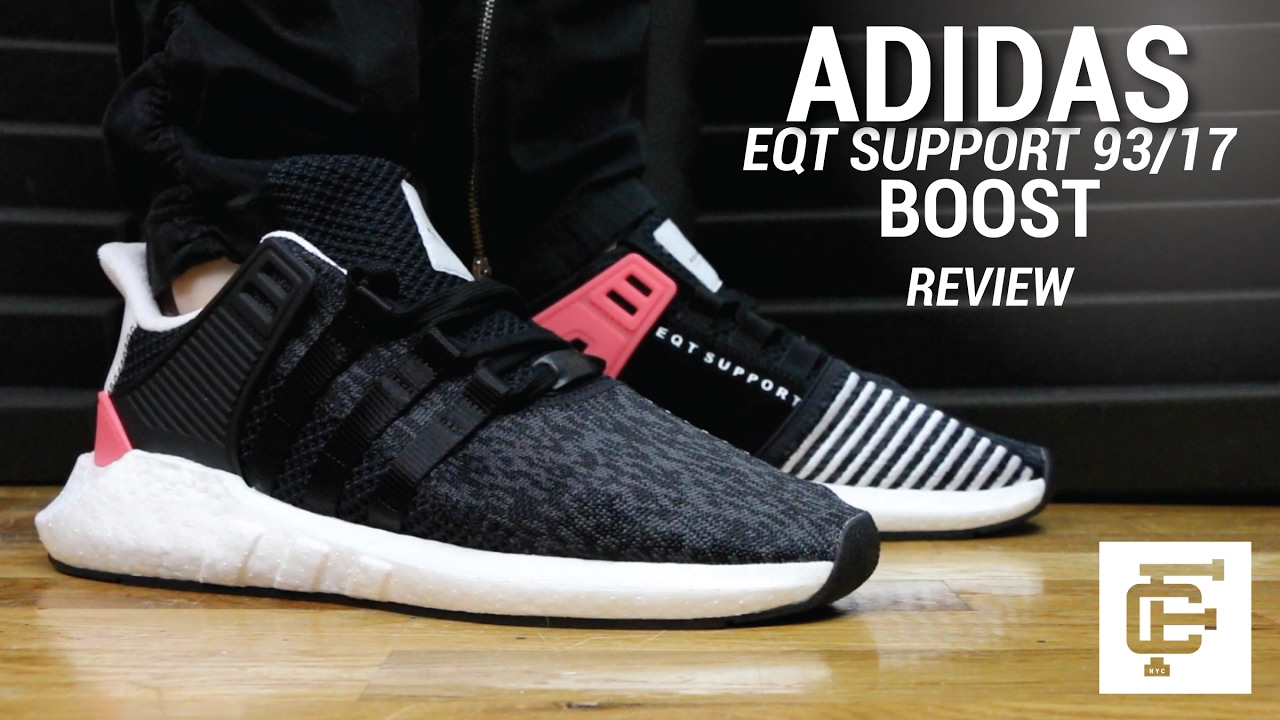 8bef8b2db54eb ADIDAS EQT SUPPORT 93 17 BOOST REVIEW - YouTube