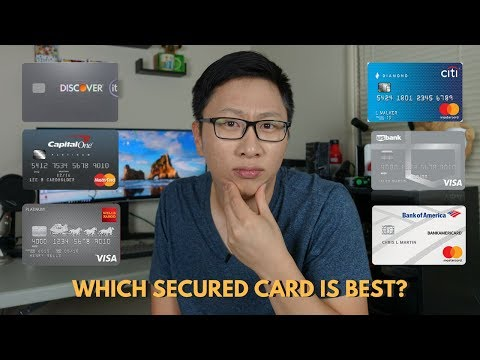 Comparing Secured Cards Which One Is Best