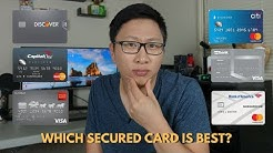 Comparing Secured Cards: Which One Is Best?