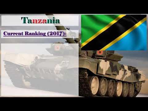 Tanzania military power?
