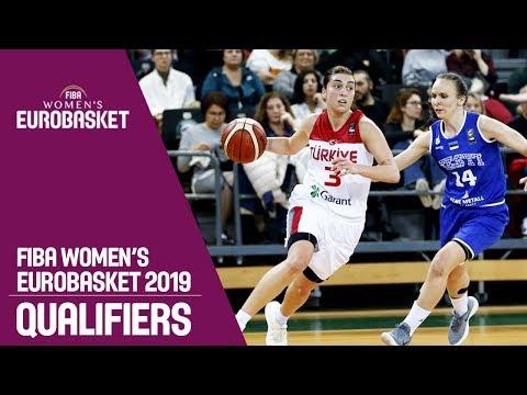 Turkey v Estonia - Full Game - FIBA Women's EuroBasket 2019 Qualifiers