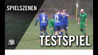 Spvgg. 05 Oberrad – SV Waldhof Mannheim (Testspiel)