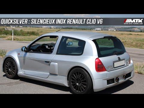 Renault Clio 2 3.0 V6 - Quicksilver Supersport exhaust Sound