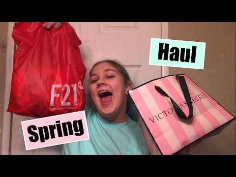 Winter/Spring Clothing Haul | PINK, Forever 21, More