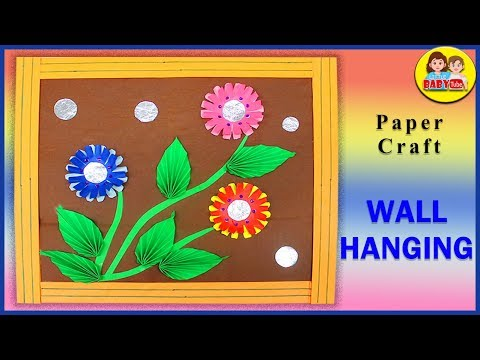 Wall Hanging for Room Decor - Easy DIY for beginners - Step by Step