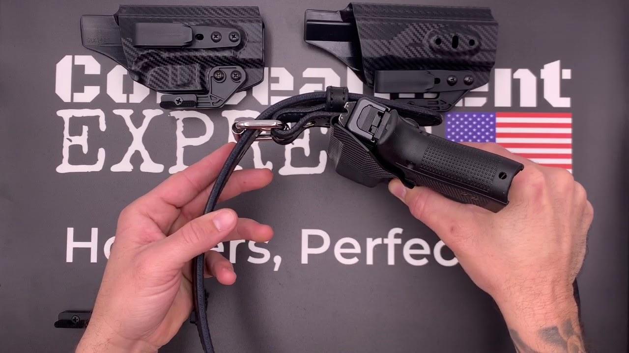 Concealment Express Sig Sauer P365 w//Foxtrot Laser IWB KYDEX Holster