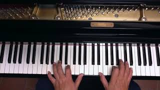 Tutorial piano y voz Lady Madrid (Pereza)
