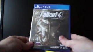 Распаковка Fallout 4 PS4