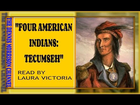 FOUR AMERICAN INDIANS CHIEF TECUMSEH
