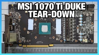 MSI GTX 1070 Ti Duke Tear-Down & Shunt Mod Guide