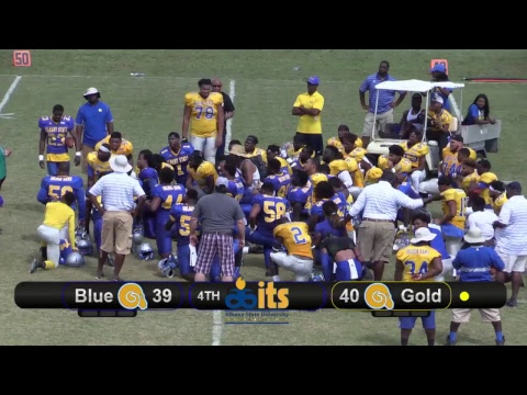 The Albany State Golden Rams 2017 Spring Football Game | 4-22-2017 | Full Game HD