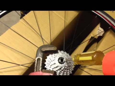 How to Remove Bike Cassette Without Special Tools (IMPROVED