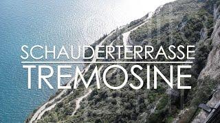 Schauderterrasse Wanderung von Campione del Garda