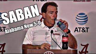 Alabama Crimson Tide Football: Nick Saban on Jalen Hurts, Jaylen Waddle after beating Louisiana