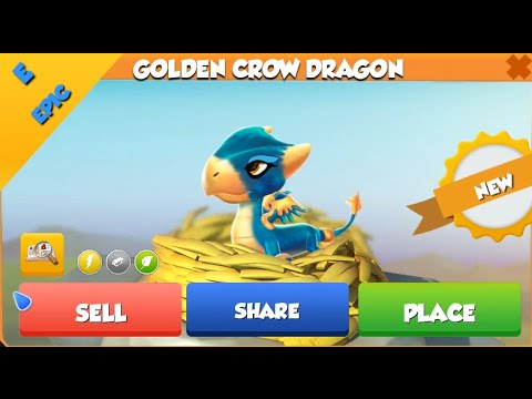 How to breed golden crow dragon in dragon mania legends adnan sakli dragon gold