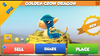 how to breed golden crow dragon in dragon mania legends