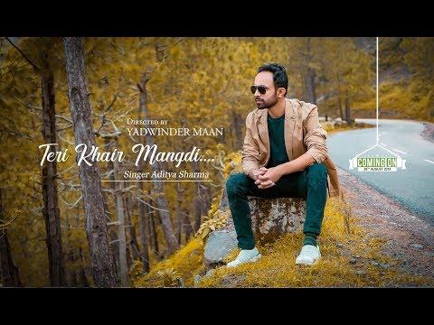 Teri Khair Mangdi | Bilal Saeed | Ritu Negi | Latest Punjabi Cover ( Aditya Sharma )