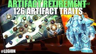 👴INSTA 126 ARTIFACT TRAITS!? (SPOILERS)- Artifact Retirement Questline - BFA Prepatch