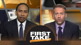 Should Celtics be concerned with 76ers' interest in trading for Kawhi Leonard? | First Take | ESPN thumbnail