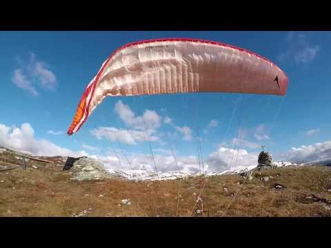 Spring Flying Unneland Valley - Bergen - Norway