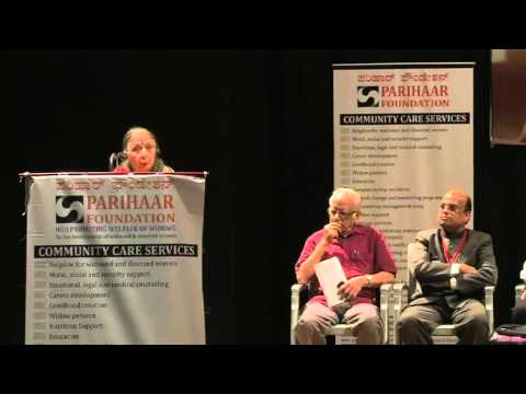 Inauguration of Parihaar Foundation & Observance of International widows day at Bangalore VIDEO 6
