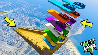GTA 5 ONLINE 🐷 MEGA RAMP COLOR !!! 🐷 LTS 🐷N*330🐷 GTA 5 ITA 🐷 DAJE !!!!!!!