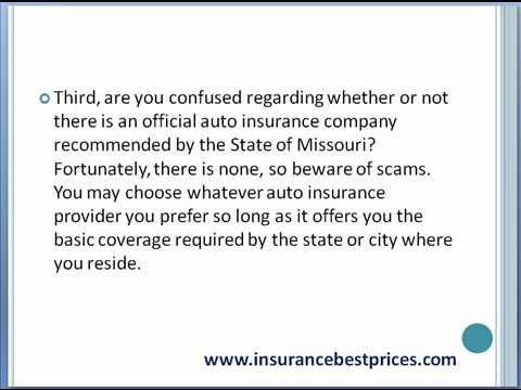 How To Find Auto Insurance Quotes For Springfield Missouri