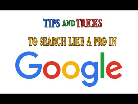 TOP 5 - Ways to Search better in Google| How to Google?