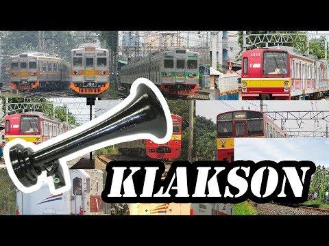 Klakson KRL Commuter Line dan Lokomotif