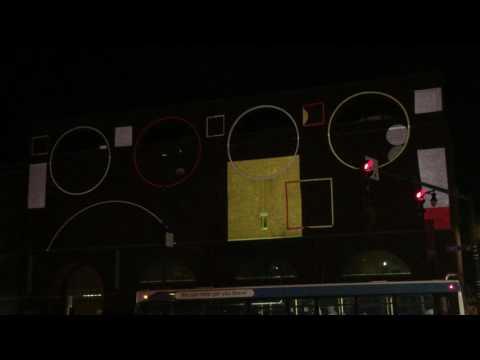 Portland Museum of Art- Video Projection 2-3-17