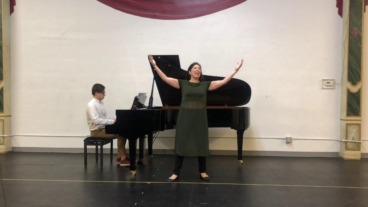 """Sein wir wieder gut"" from Strauss's ARIADNE AUF NAXOS - Stephanie Sanchez, mezzo-soprano"